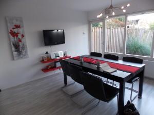 Keuken zoals dze voor de woningfotografie was
